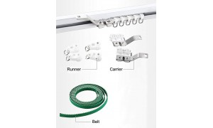 Accessory of Smart Curtain, DIY Electric Curtain Track