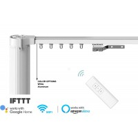6.1 M DIY Smart Curtain Tracks, works with Alexa, Google Home, IFTTT