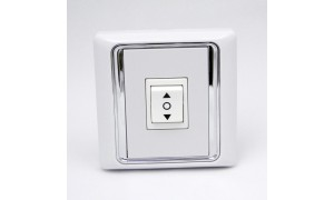 Single Wall Switch for Project Screen, Window Opener, Roller Blind and Roller Shutter