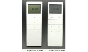 Wireless Timer for AC Motor Electric Curtain Poles