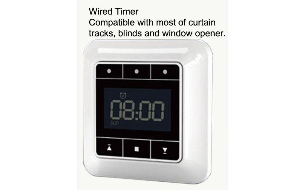 Timer For Electric Curtain Tracks Window Opener Roller