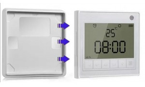 Timer for Smart Electric Curtain Tracks Grey Colour