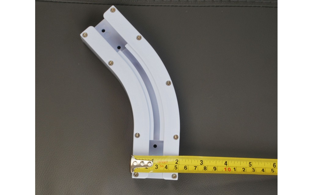 Smart Curtain 135 Degree Bend For Bay Window