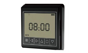 Timer for Smart Electric Curtain Tracks Black Colour