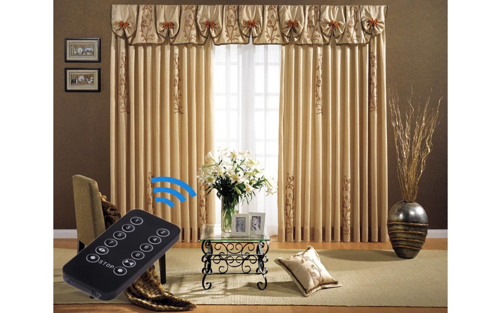 3-Meter Motorized Curtains, Electric Curtain Tracks