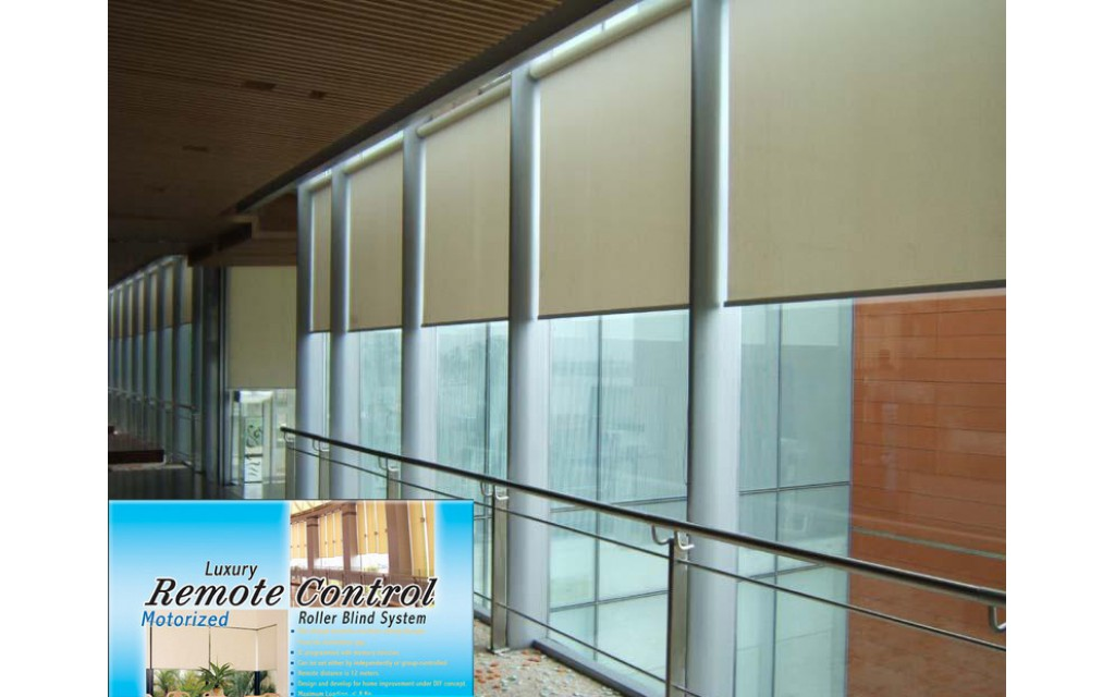 Motorized Roller Blinds HT200